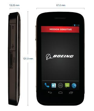 Boeing Black Smartphone Features